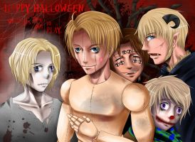 APH: Halloween, When Kids Come Out to Play (v.2) by Aloof-Star