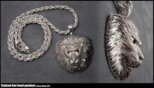 Lion head pendant by Dans-Magic