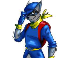Actual Sly Cooper by TheLittleBear