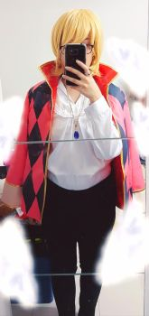 Howl's Moving Castle Costest by AkaneYueyuki