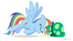 Rainbow Dash in 'Move it, Tank' by dm29
