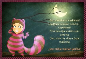 Cheshire Cat - Mother's day by Isis-M