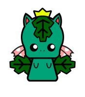 Chibi Venusaur by DrSketch24