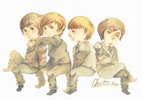 The Beatles by Christine-san