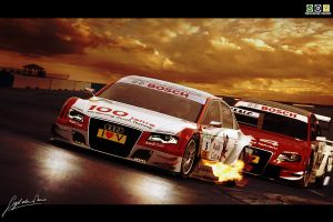 Audi A4 DTM by Noxcoupe-Design
