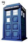 Tardis Vector by Sorceress2000
