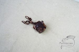 Garnet Pendant by Rolary