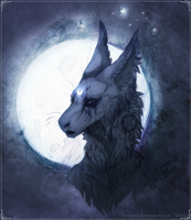 moon by Vongrell