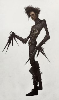 Edward Scissorhands by AudreyBenjaminsen