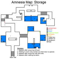 Amnesia Map: Storage by HideTheDecay