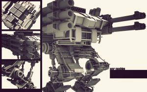 design a war machine by TearsOfry