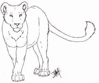 Lioness for McDumbles by Rurouna