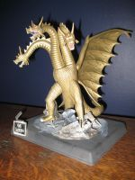 king ghidorah model by jacobzilla90s