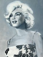 Marilyn Monroe by felixecho