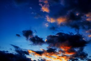Blue Sunset by MrFotkerman