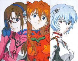 Evangelion Rebuild Time by Malichinari