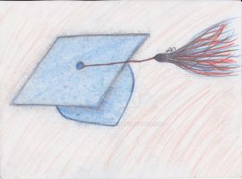 Graduation cap by kyleewayne