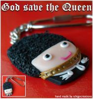 God save the Queen by ichigocreations