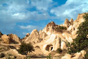 Cappadocia in Central Anatolia by salihguler