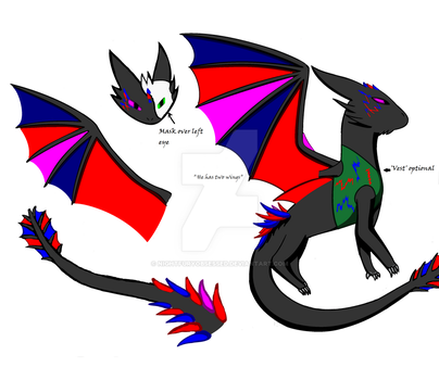 Virus!Cry dragon by NightfuryObsessed
