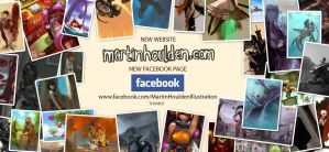 New Website New Facebook Page by martinhoulden
