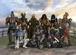 Clan Mates of Destiny by skycladstrega
