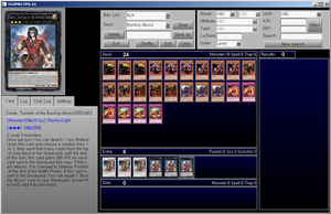 HQ Burning Abyss Cards for YGOPRO by YGOPROPro