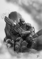 Gears of War by Surfercalavera by MaoUndo
