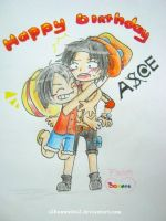 Happy Birthday Ace by BiShakalaka
