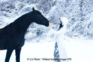 Winter Epona 02 by MeetMeAtTheLake2Nite