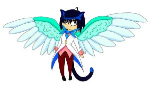 swallowtail, the bewinged cat boy by bunslake