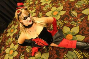 I Can't Cosplay Harley Without Flexability by Tejnin