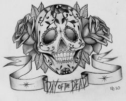 sugar skull by mgh2o
