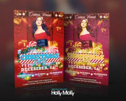 Christmas Party Flyer by imagingdc