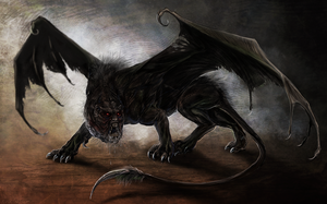 Savage Manticore by Isvoc