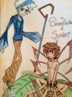 Snowflake and the Spider~ Frostcup by Blackbutler136