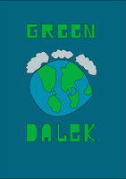 Green Dalek by jamahata