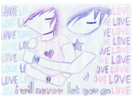 I will never let you go by ConkerTSquirrel