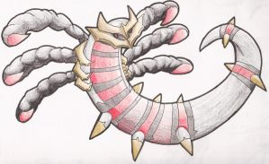 Giratina's origin by PeaceArt79