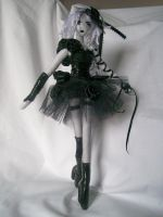 dark ballerina 2 by dollmaker88