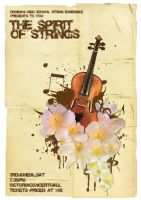 String Ensemble Concert Poster by zhoumlh
