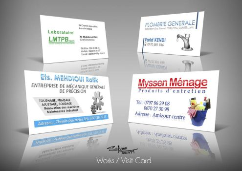 Visit Card by SofianeTOUATI