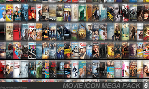 Movie Icon Mega Pack 6 by FirstLine1
