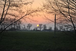 Sun is coming down by SunnySpring