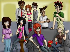 House Party by InTheShadowsOTheMoon