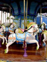 Carousel  Horses 5 by FairieGoodMother