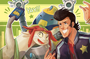 space dandy by Sydsir
