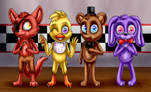 Let's Celebrate! (Five Nights at Freddy's) by ArtyJoyful