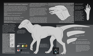 S.E.C. creature reference sheet by wolfytg
