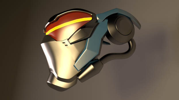 Soldier 76 Overwatch Mask 3 by GexANIMATOR